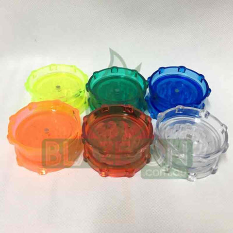Twin Layer Acrylic 63mm Herb Grinder - Bargain