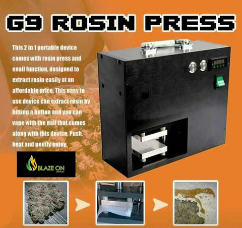 Rosin Press by G9