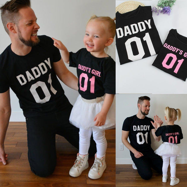 Daddy & Daughter Shirts