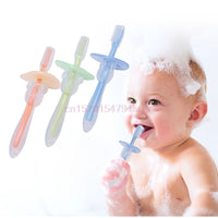 Baby Teether Training Toothbrush