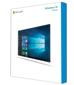 Microsoft Windows 10 Home editions 32/64bit - 1 License