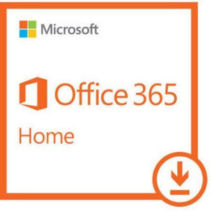 Microsoft Office 365 Home - 5 Devices, 1 Year Subscription - Download