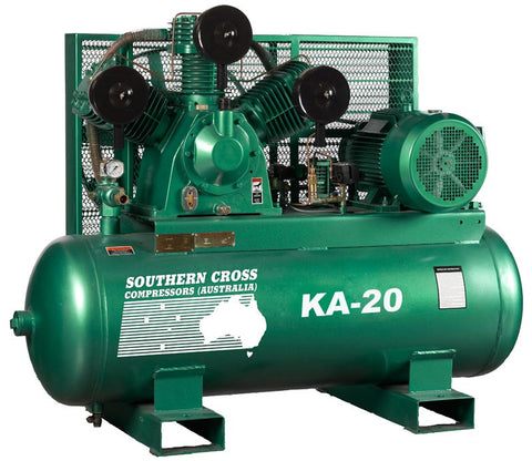 KA20 - 15kW Reciprocating Air Compressor
