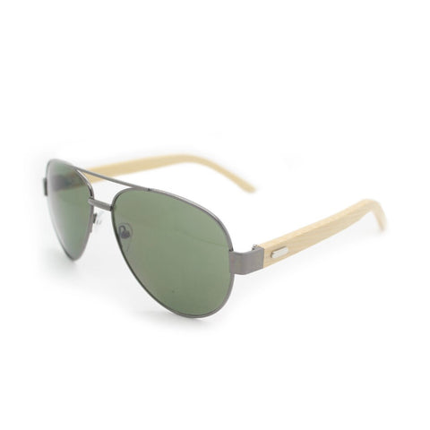 Aviator Bamboo Sunglasses