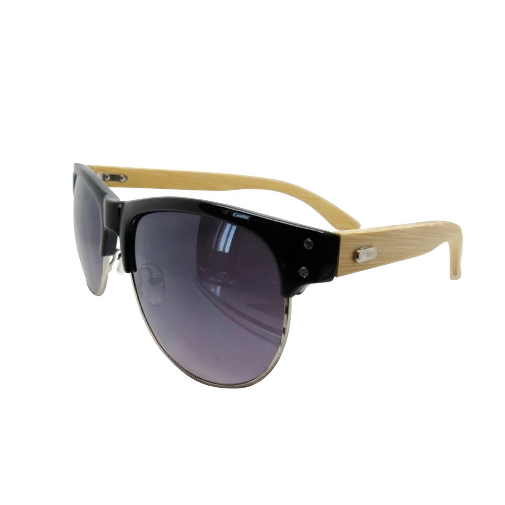 Wireframe Bamboo Sunglasses