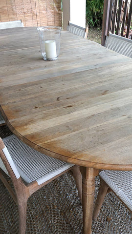 oak table refurbish singapore