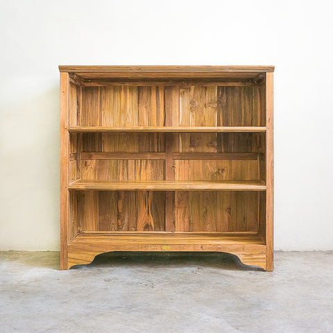 custom made bookcase reclaimed teak
