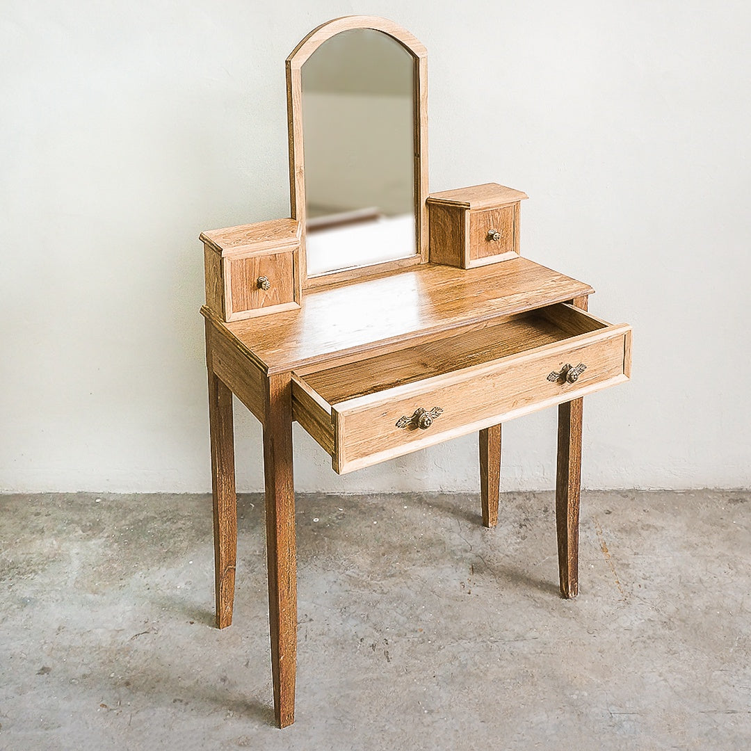 teak wood dressing table