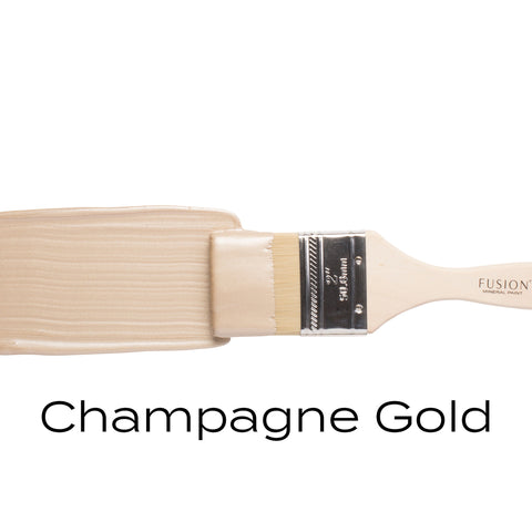 Metallic Champagne Gold