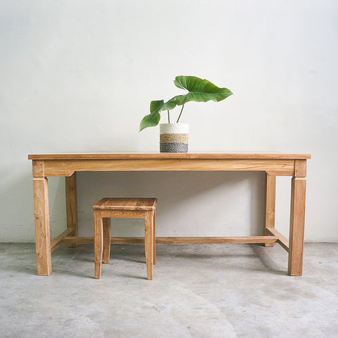 solid teak dining table singapore