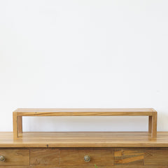 small teak shelf for display