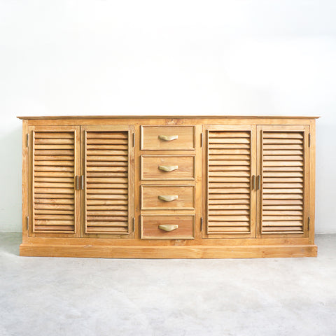 large teak sideboard buffet