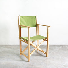 folding chair green