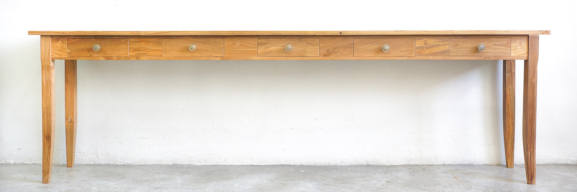teak furniture console