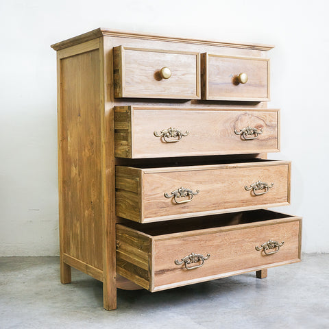teak wood commode