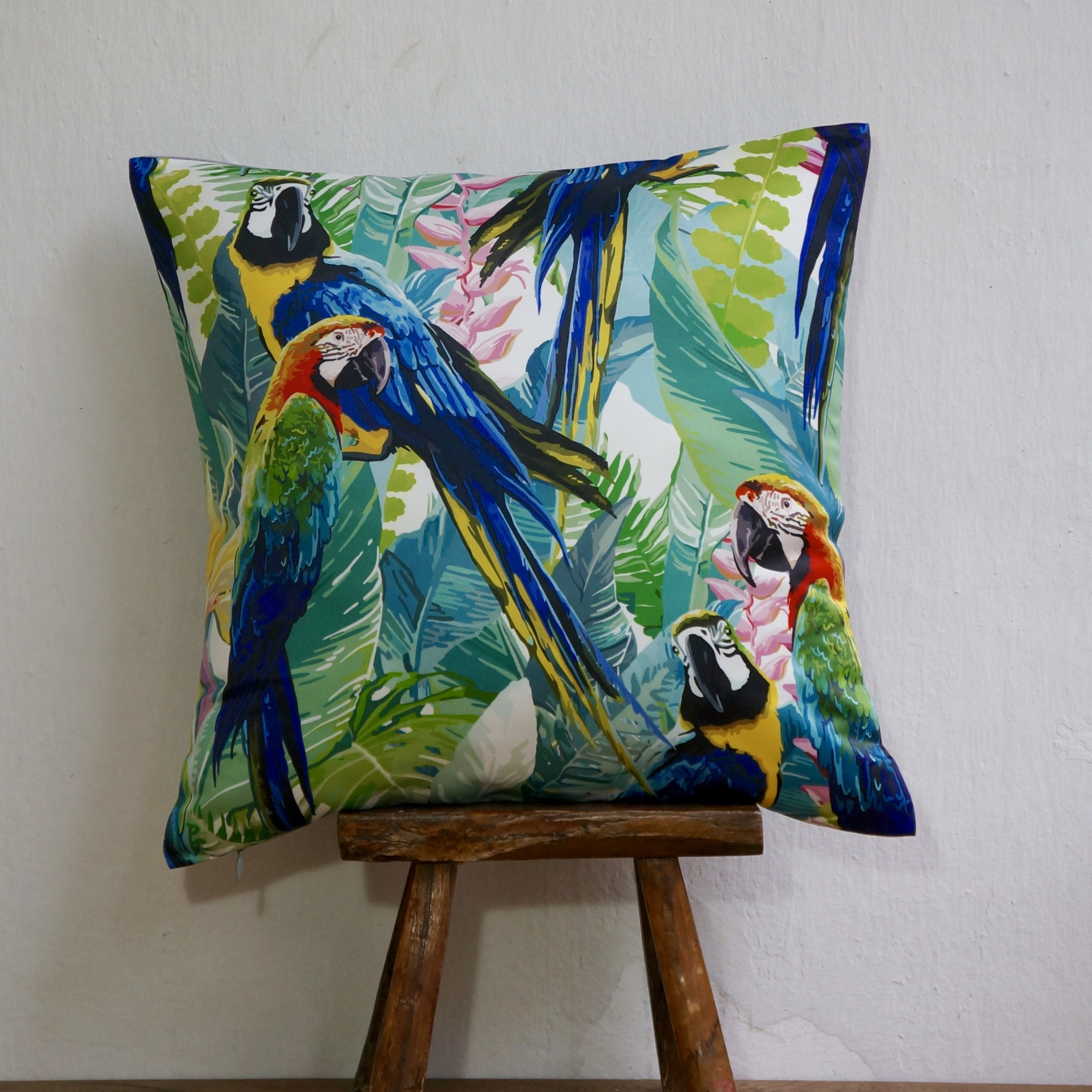 FEATHERED BOTANICAL CUSHIONS