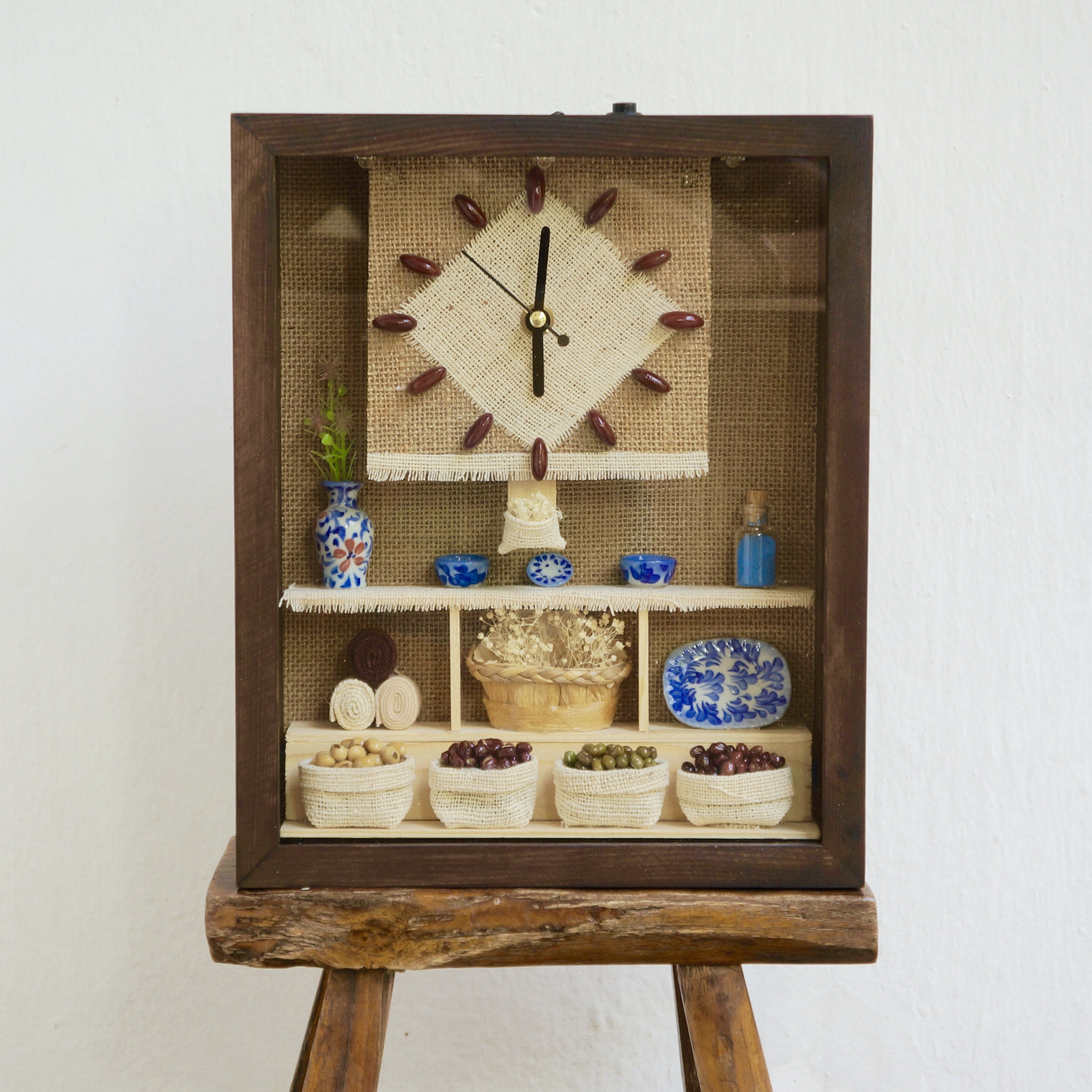 KITCHEN PORCELAIN CLOCK