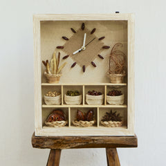 KITCHEN SPICE CLOCK