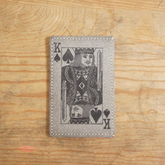 ECO CARD HOLDER (KING OF SPADES)