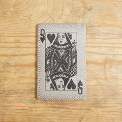 ECO CARD HOLDER (QUEEN OF HEARTS)