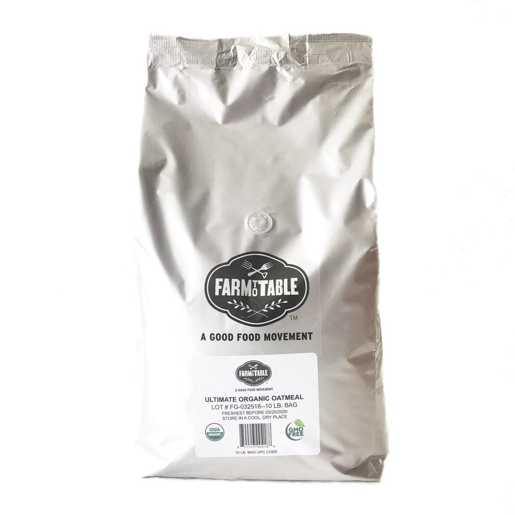 Ultimate Organic Whole Grain & Oatmeal 10-lb. cafe bag