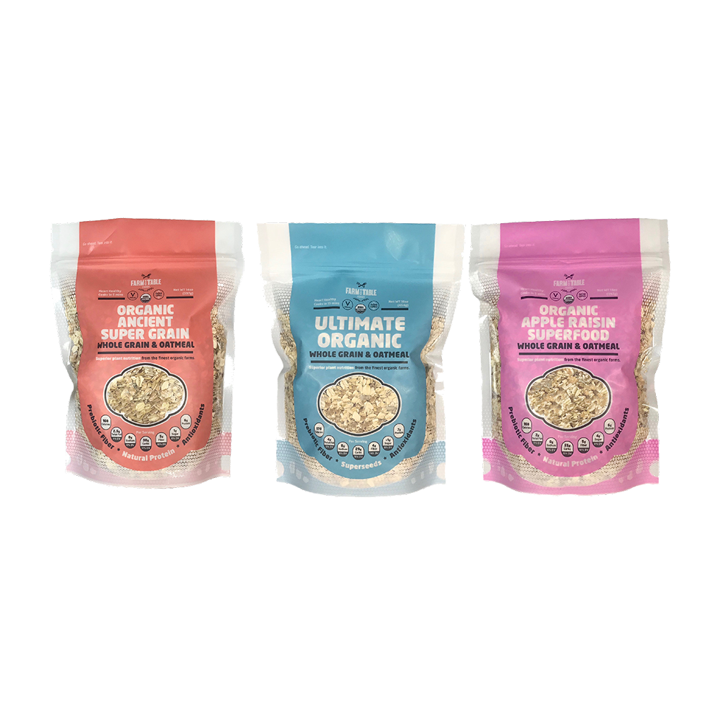 Combination 3 Pack (2- 14 oz. and 1- 16 oz. bag)