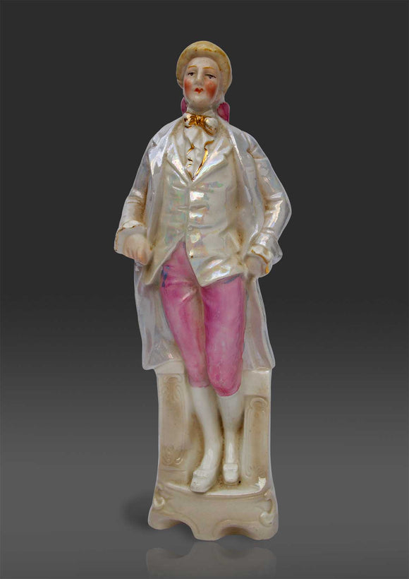 German porcelain figure of a Gentleman