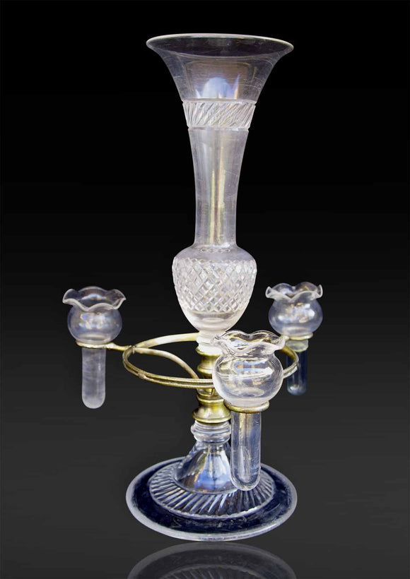 Cut Glass Centre Piece Epergne