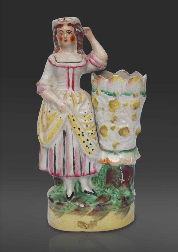 Staffordshire figure of a Lady