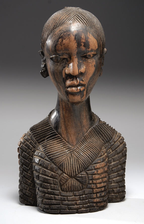 African Ebony Figure (Woman)