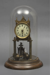 Enamel Dial Mantle Clock
