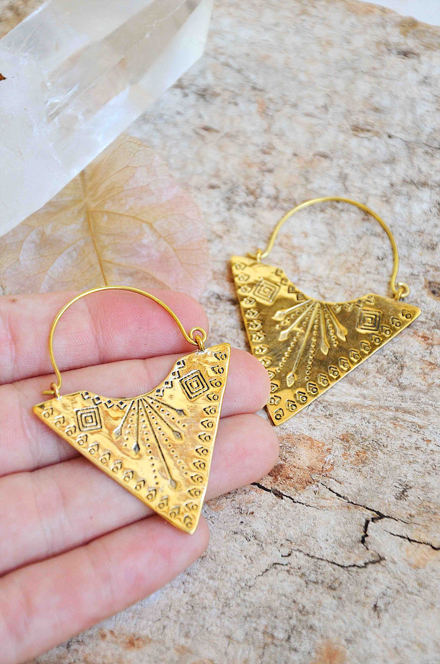 Brass Nomad ✧ Earrings