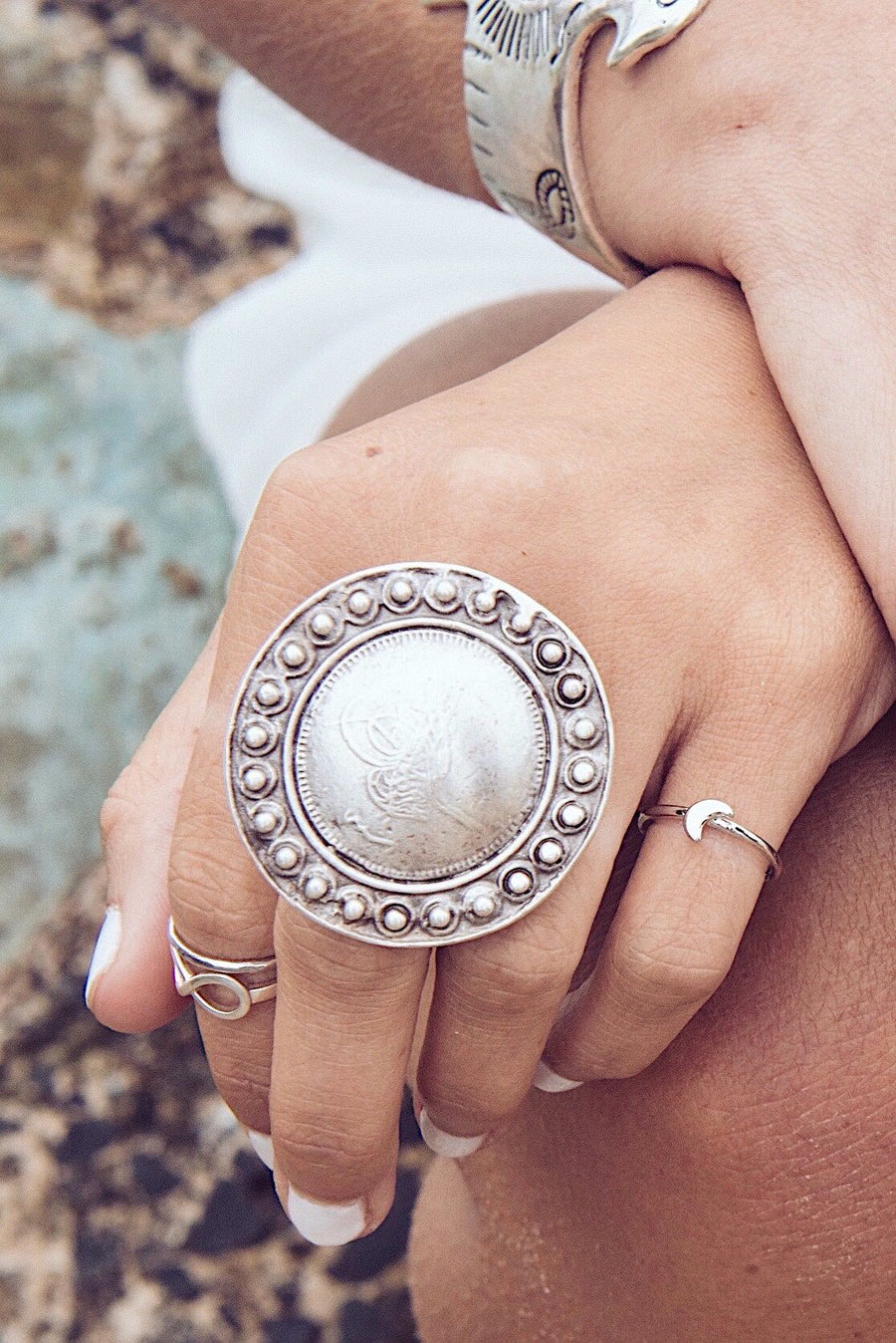 Turkish ✧ Silver Statement Ring