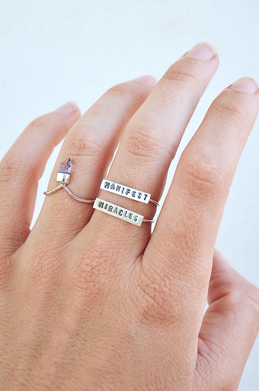 Intentional ✧ Sterling Silver Rings