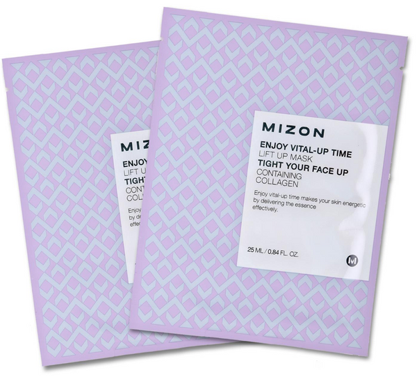 Mizon Enjoy Vital UP Time - No.Lift Up (x2 Sheets) - The BB Cream Girl Store