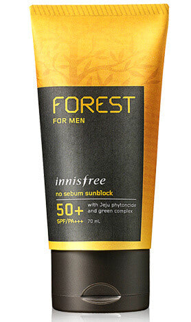 Innisfree Forest For Men No Sebum Sunblock SPF50 - The BB Cream Girl Store