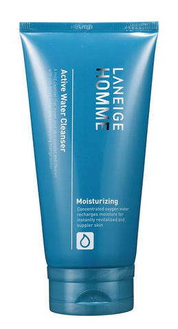 LANEIGE Homme Active Water Cleanser - The BB Cream Girl Store