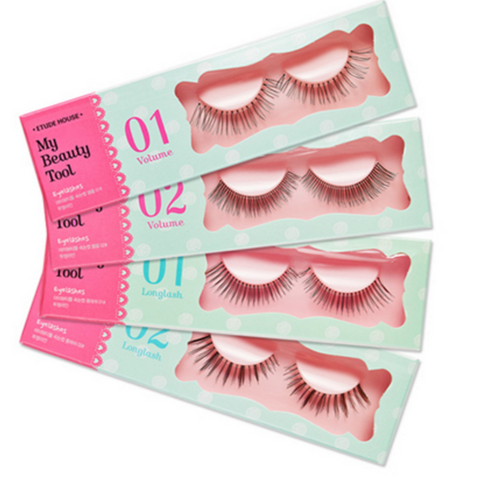 ETUDE HOUSE My Beauty Tool Eyelashes Step1 & Step2 - The BB Cream Girl Store - 1