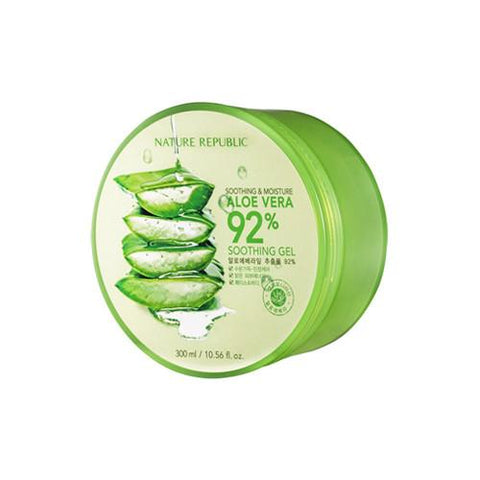 Nature Republic / Soothing & Moisture Aloe Vera 92% Soothing Gel - 300ml