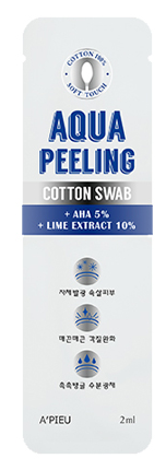A'PIEU Aqua Peeling Cotton Swab - The BB Cream Girl