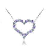 Silver Heart Necklace - Posh N Popular Jewelry
