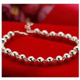 Silver Bead Bracelet - Posh N Popular Jewelry