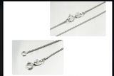 Sterling Silver Box Chain - Posh N Popular Jewelry