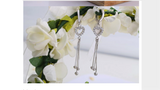 Elegant Heart Earrings - Posh N Popular Jewelry