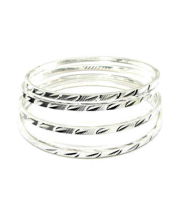 925 STERLING SILVER BANGLES - Posh N Popular Jewelry