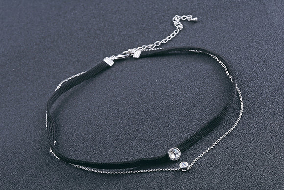 Sterling Silver Choker Necklace - Posh N Popular Jewelry