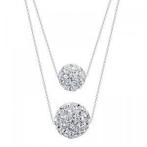 Sterling Silver Disco Necklace - Posh N Popular Jewelry