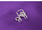 Sterling Silver Ear cuff - Posh N Popular Jewelry