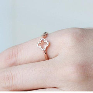 Rose Gold 925 Silver Ring - Posh N Popular Jewelry
