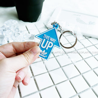 "adidas ""This Way Up"" Keychain"